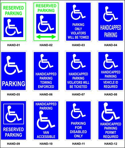 handicap-parking-multicolor-signs