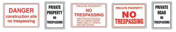no-tresspassing-signs MCS